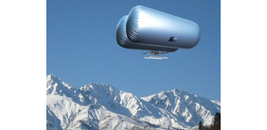 """Sky Watcher 1000XR"" combining drones and airships