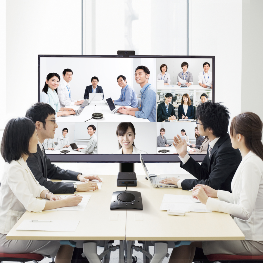 Easy-to-operate video conferencing system to support corporate work style reform
