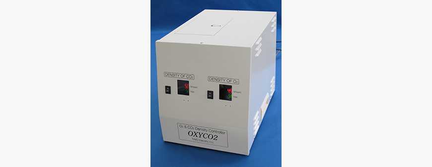 """OXYCO2"" of poviding stable observation environment for cell culture."