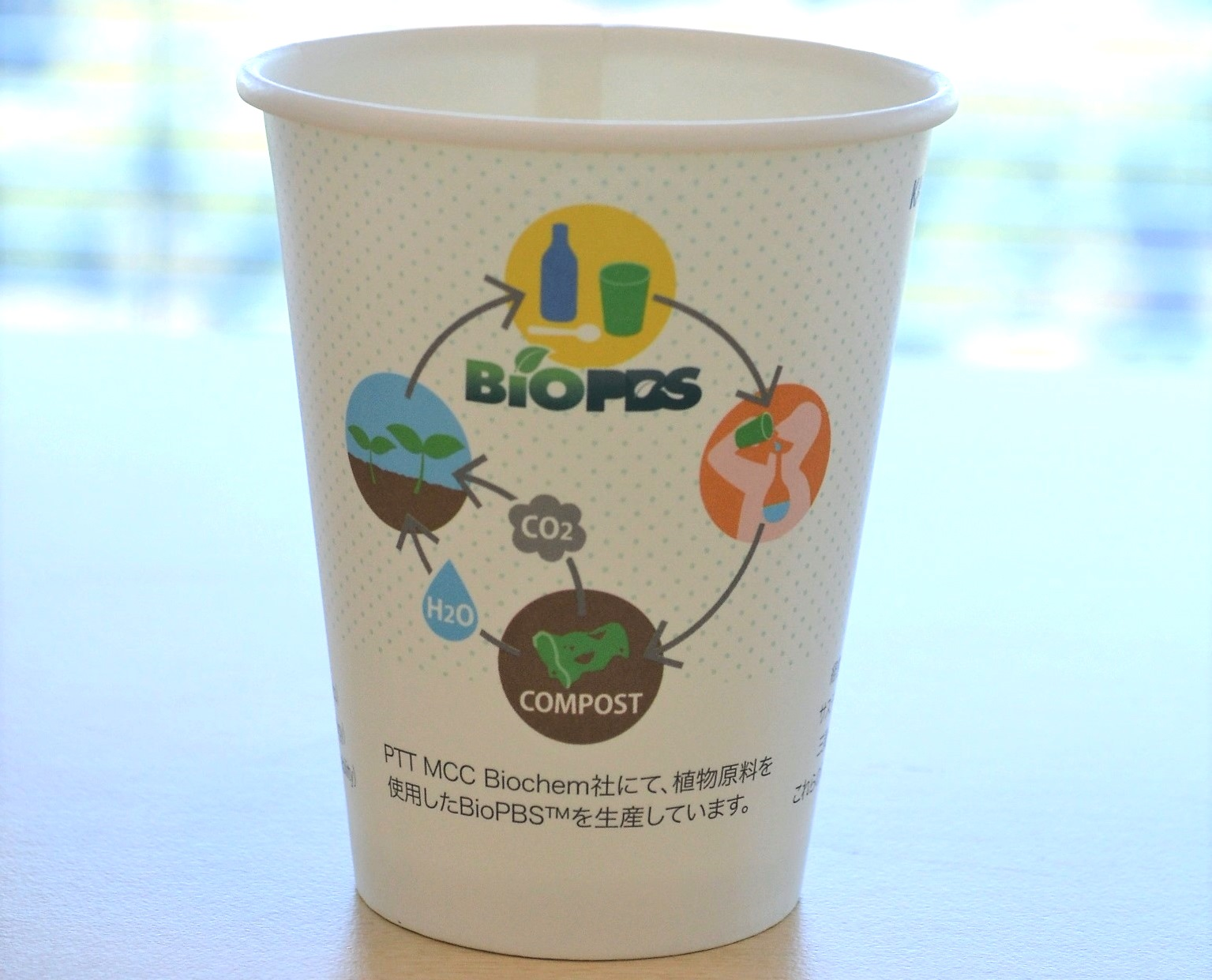 Committed to reducing environmental impact using bioplastics that have new possibilities